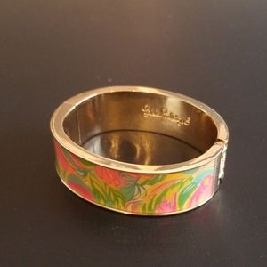 New Lilly Pulitzer gold bangle